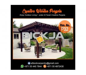 Pergola In Abu Dhabi | Pergola Suppliers | Wooden Pergola