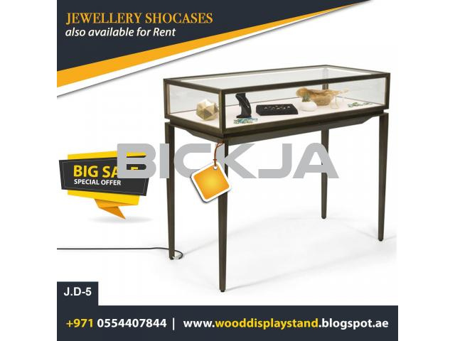 Dubai Jewelry Events Display  Display Stand  Wooden Kiosk UAE - 1/4
