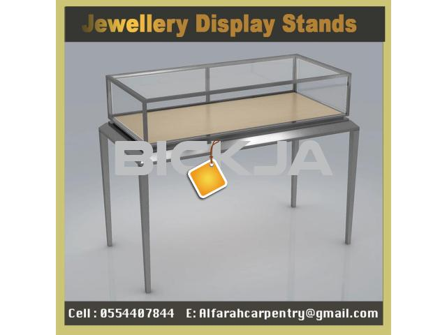 Dubai Jewelry Events Display  Display Stand  Wooden Kiosk UAE - 2/4