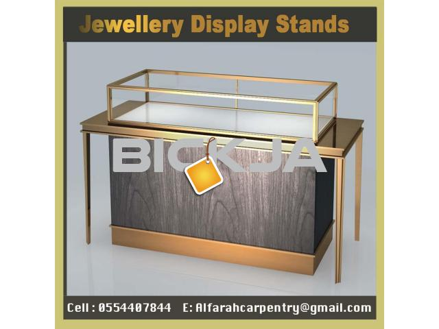 Dubai Jewelry Events Display  Display Stand  Wooden Kiosk UAE - 4/4