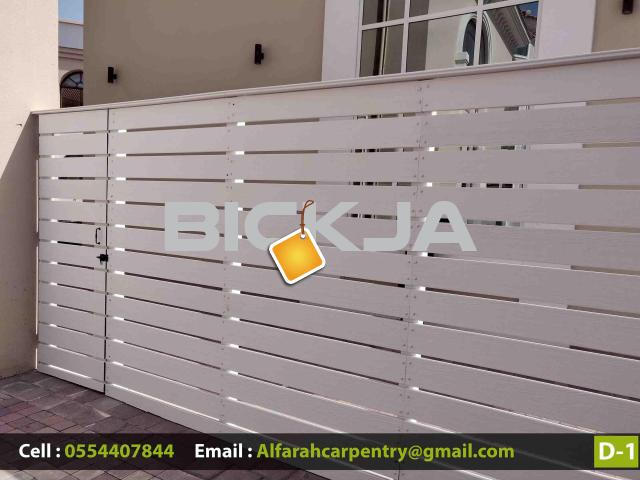 Composite Wood Fence Dubai | WPC Wood Fence | Privacy fencing Suppliers Dubai  We Manufacturing WPC - 2/3