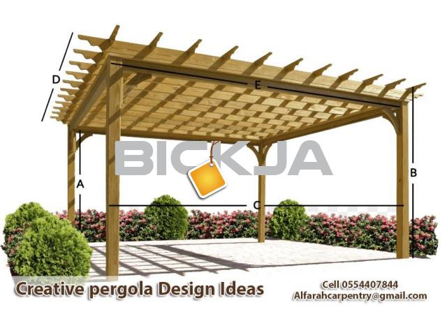 Pergola Suppliers in Dubai | Wooden Pergola UAE | Pergola Manufacturer Dubai - 1/4