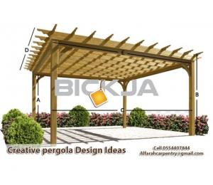 Pergola Suppliers in Dubai | Wooden Pergola UAE | Pergola Manufacturer Dubai