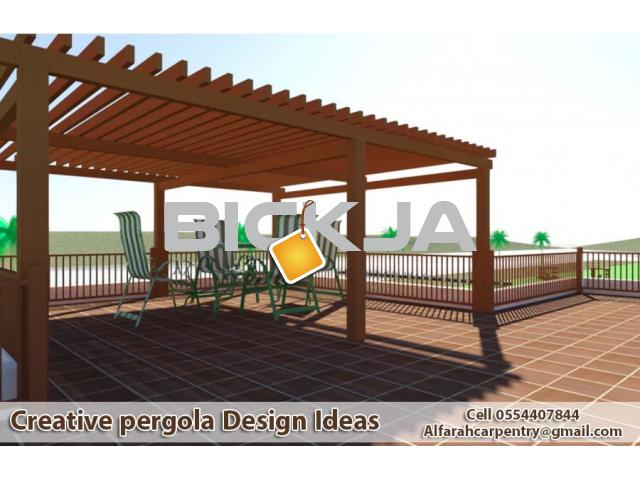 Pergola Suppliers in Dubai | Wooden Pergola UAE | Pergola Manufacturer Dubai - 3/4