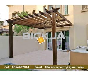 Garden Pergola In Dubai | Wooden Pergola Suppliers | Outdoor Pergola in Dubai