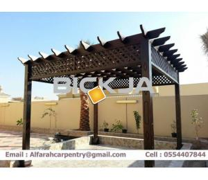 Wooden Pergola Manufacturer In Dubai | Pergola Suppliers Dubai | Pergola Sell Dubai