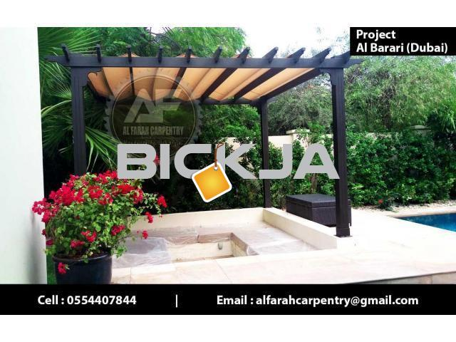 Wooden Pergola Manufacturer In Dubai | Pergola Suppliers Dubai | Pergola Sell Dubai - 3/4