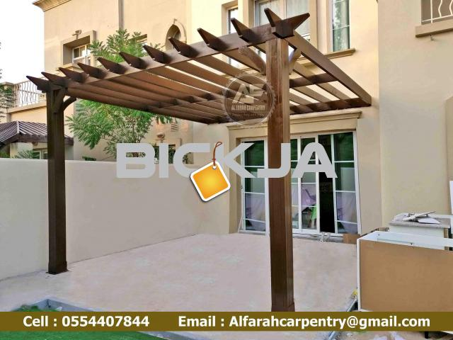 Pergola In Abu Dhabi | Wooden pergola | Pergola Suppliers In Dubai - 2/4