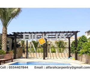Pergola In Abu Dhabi | Wooden pergola | Pergola Suppliers In Dubai