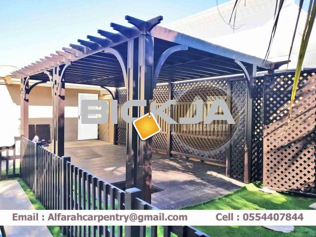 Pergola In Abu Dhabi | Wooden pergola | Pergola Suppliers In Dubai - 4/4