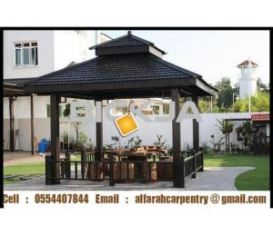 Garden Gazebo in Abu Dhabi | Gazebo in Dubai | Wooden Gazebo Suppliers ANi Djanp