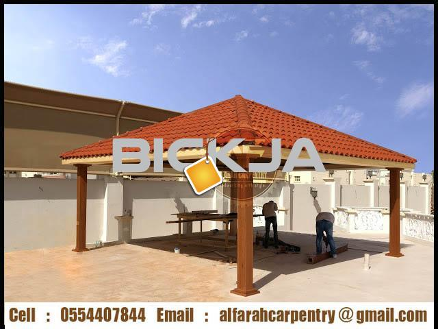 Pergola in Abu Dhabi | Pergola Suppliers Dubai | Wooden pergola In UAE - 2/4