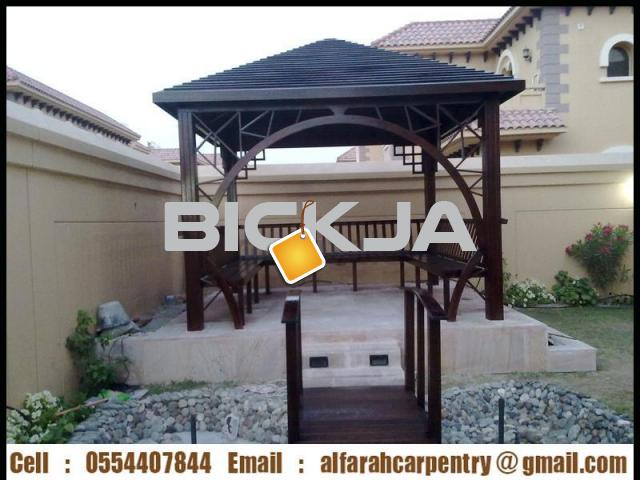 Pergola in Abu Dhabi | Pergola Suppliers Dubai | Wooden pergola In UAE - 3/4