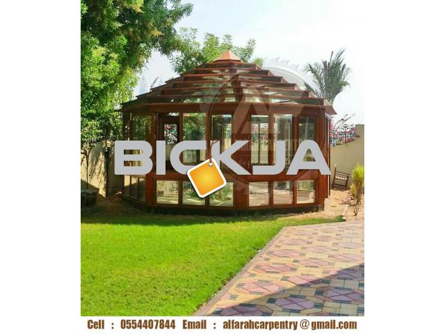 Pergola in Abu Dhabi | Pergola Suppliers Dubai | Wooden pergola In UAE - 4/4