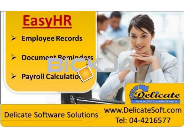 HR System with Gratuity Calculation - 1/3