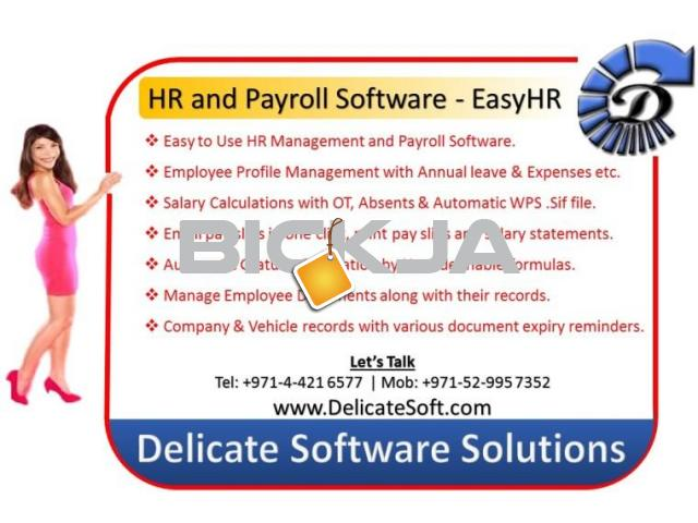 HR System with Gratuity Calculation - 2/3