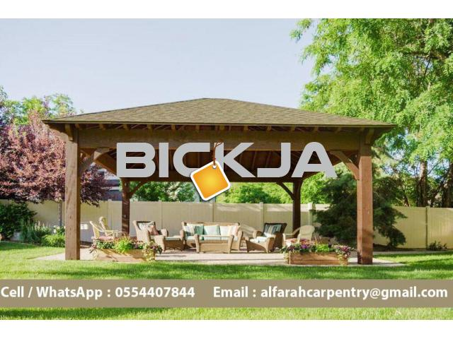 Wooden Gazebo in Abu Dhabi | Garden Gazebo | Gazebo Suppliers in Dubai - 4/4