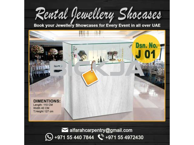 Rental Display Stand Dubai | Wooden Display Stands | Jewelry Showcase Dubai - 2/4