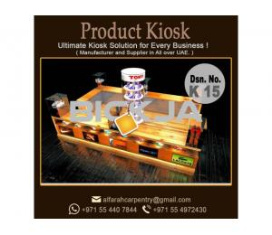 Outdoor Kiosk Dubai | Wooden Kiosk Dubai | Mall Kiosk Manufacturer & Suppliers Dubai
