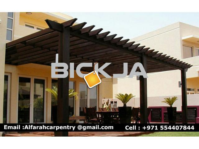 Pergola Suppliers in Dubai | Wooden Pergola Dubai | Outdoor Pergola Dubai - 3/4