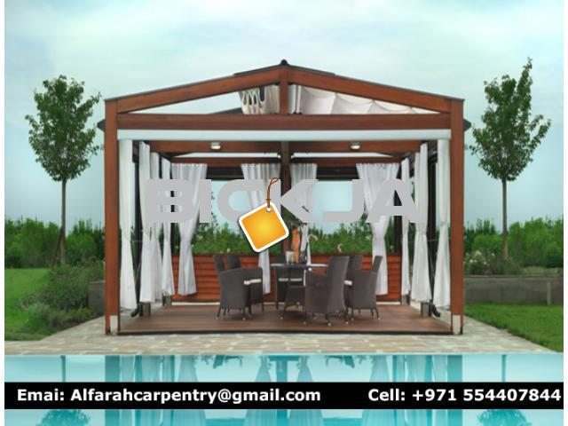 Pergola Suppliers in Dubai | Wooden Pergola Dubai | Outdoor Pergola Dubai - 4/4
