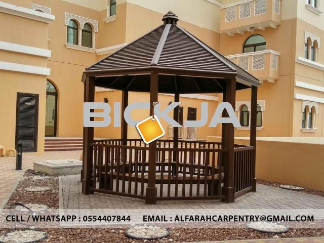 Gazebo Abu Dhabi | Wooden Gazebo Abu Dhabi | Gazebo Suppliers UAE - 3/4