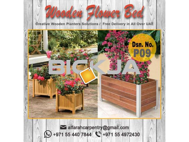 Wooden Planters Manufacturing in Dubai | Garden Planters | outdoor Planters UAE - 3/4