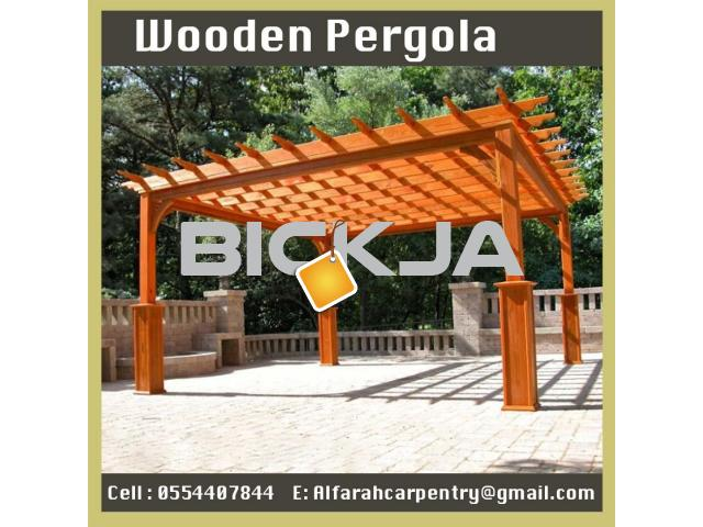 Balcony Attached Pergola Dubai | Patio Pergola Dubai | Wooden Pergola Suppliers Dubai - 2/4