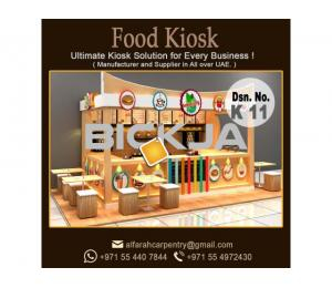 Outdoor Kiosk Abu Dhabi | Wooden kiosk | Abu Dhabi Mall Kiosk | Kiosk Suppliers