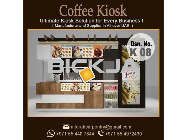 Outdoor Kiosk Abu Dhabi | Wooden kiosk | Abu Dhabi Mall Kiosk | Kiosk Suppliers - 3/4