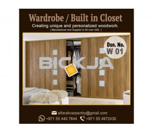Wooden Wardrobes Abu Dhabi | Built in Closet Dubai | Wardrobes Suppliers UAE