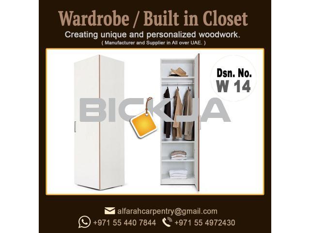 Walk in Closet Manufacturer in Dubai | Carpentry Shop in Dubai | Wooden Wardrobes Dubai - 3/4