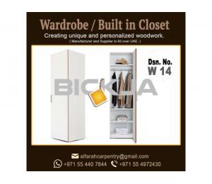 Walk in Closet Manufacturer in Dubai | Carpentry Shop in Dubai | Wooden Wardrobes Dubai