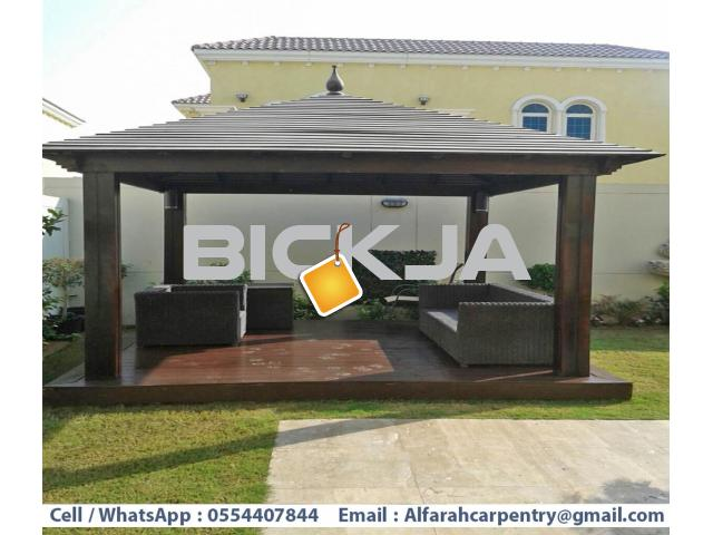 Garden Gazebo Abu Dhabi | Wooden Gazebo Suppliers | Outdoor Gazebo Dubai - 2/4