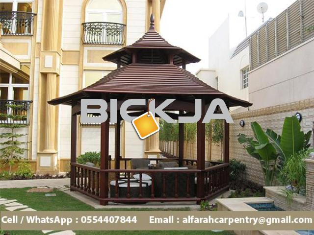 Garden Gazebo Abu Dhabi | Wooden Gazebo Suppliers | Outdoor Gazebo Dubai - 3/4