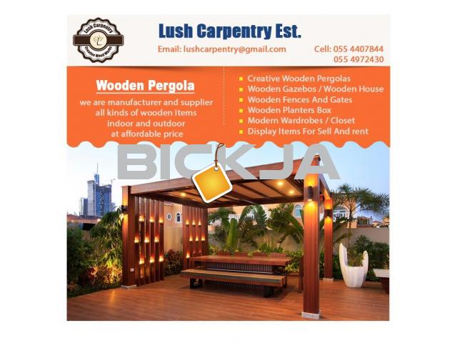 Pergola Sell in Dubai | Wooden Pergola Suppliers | Pergola Manufacturer Abu Dhabi - 2/4