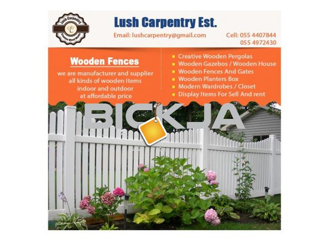 Wooden Fencing Dubai | Garden Fences Dubai | Picket fence in Dubai | Fence Suppliers Dubai - 2/4