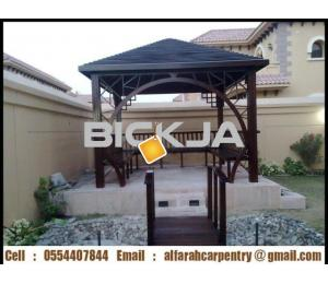 Garden Gazebo And Pergola Abu Dhabi | Wooden Gazebo | Gazebo Suppliers Dubai