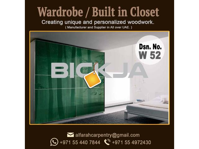 Wardrobes Dubai | Wooden Cabinets Dubai | Built in Closet Dubai | Wardrobe Suppliers Dubai - 2/3