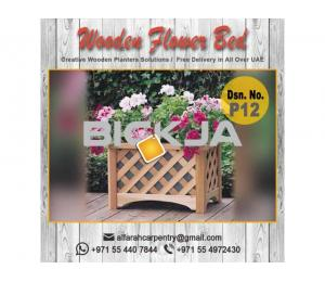Garden Planters Box Sell in Dubai | Wooden Box For Planters Dubai | Garden Planters Dubai