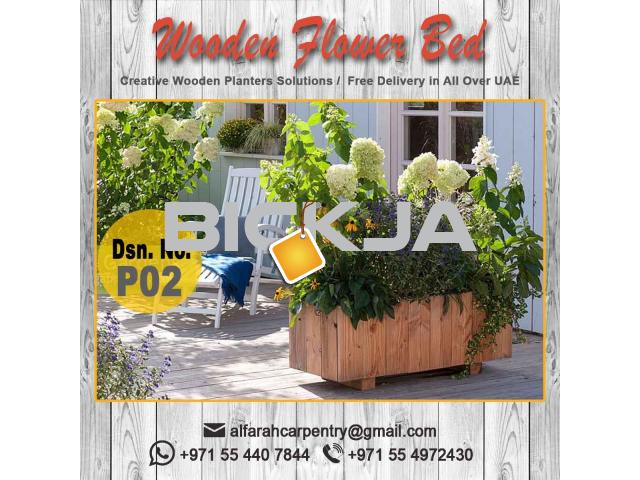 Garden Planters Box Sell in Dubai | Wooden Box For Planters Dubai | Garden Planters Dubai - 4/4