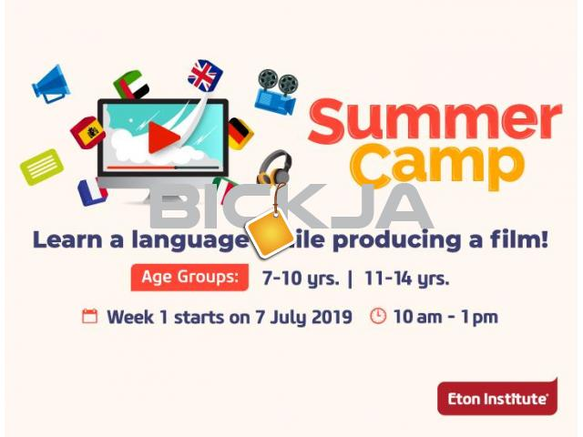 Summer Camp: Learn a language while producing a film! - 1/1