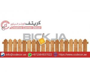 Free Standing Fences Uae | Events Fences Uae | Timber Railing | Villa Privacy Fences Uae