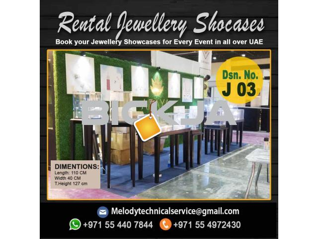 Jewelry Display Stand Dubai | Rental Display Stand Dubai | Dubai Events Display Stand - 2/4