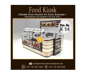 Abu Dhabi Mall Kiosk | Perfume Kiosk Design Dubai | Food And juice Wooden Kiosk Suppliers