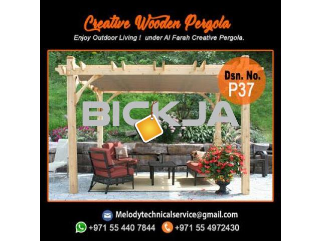 Pergola Company in Dubai | Wooden Pergola | Outdoor Pergola In UAE - 4/4