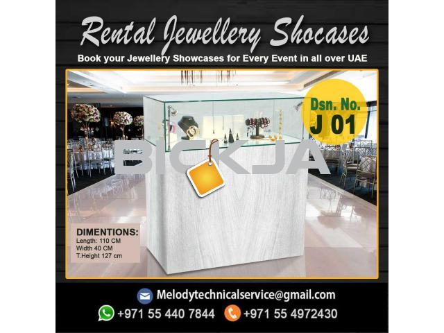 Wooden Display Stand Dubai | Jewelry Events Display Stand Dubai - 1/4