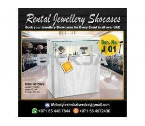 Wooden Display Stand Dubai | Jewelry Events Display Stand Dubai