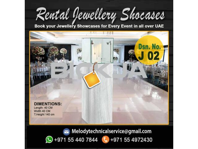 Wooden Display Stand Dubai | Jewelry Events Display Stand Dubai - 2/4