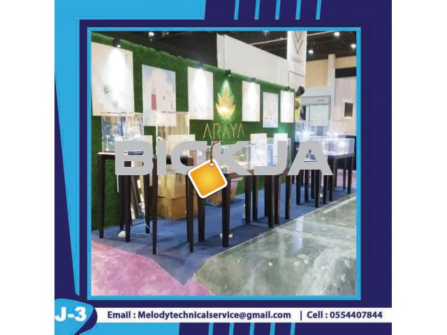 Display Stand Dubai | Wooden Display Stand | Jewelry Showcase - 2/4